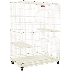 """ProSelect Foldable Cat Cages 48"""" High- Ivory"""