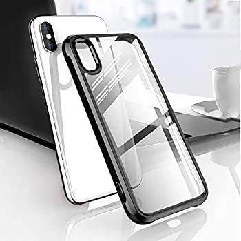 Tellunow Protective Clear Case for iPhone Xs Max 6.5 inch 2018