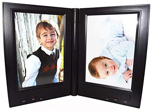 Dual Recording Photo Frame Memories You Can Hear!, RE9938 (Black)]()