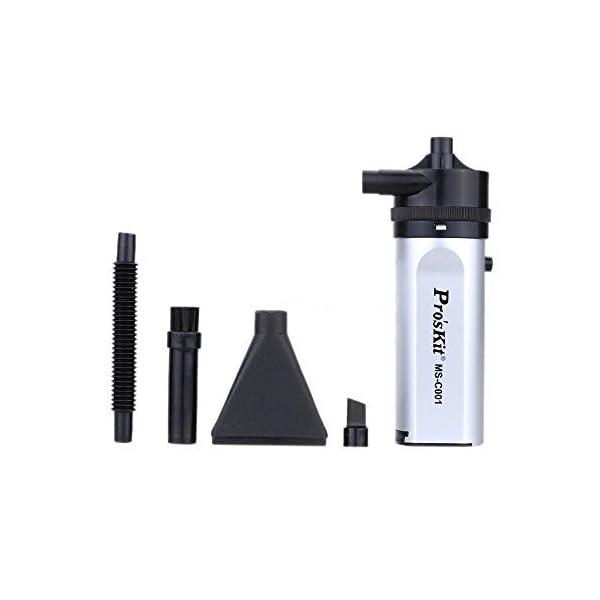 Pro'sKit MS-C001 Mini Vacuum Blowing Cleaner Dust Blower Duster for Camera 8U71