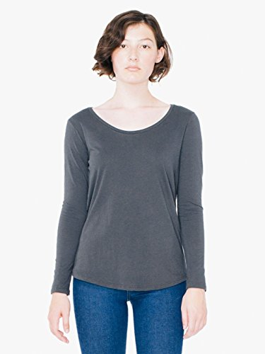 american-apparel-womens-long-sleeve-ultra-wash-tee-coal-large