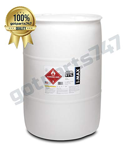 Isopropyl Alcohol - IPA 91% (55 Gallon Drum) LOWEST PRICE ONLINE. BEST QUALITY.