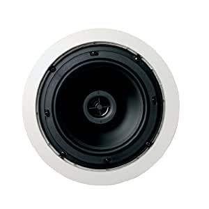Jamo 6.5 CS T - Altavoz de pared de 2 vías (pareja) color blanco