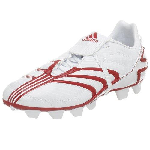 adidas Men's +Absolado TRX FG DB Soccer Cleat,White/Red,12 M - Absolado Trx Fg Soccer Shoe