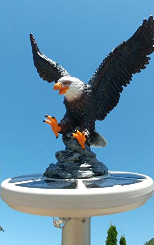 PolePalUSA Eagle on Approach - Hand Painted for sale  Delivered anywhere in USA