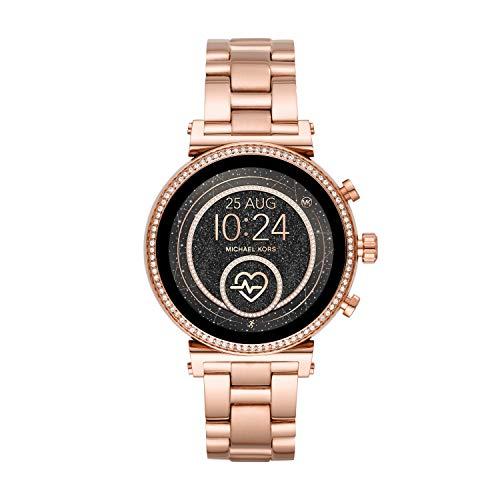 Michael Kors MKT5063 Slim Sofie Rose Gold Smart Touchscreen Watch