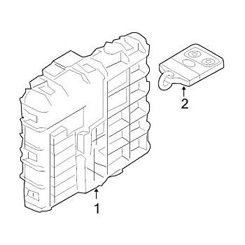 Amazon Com Genuine Ford Bl8z 15604 B Door Lock And Alarm Module