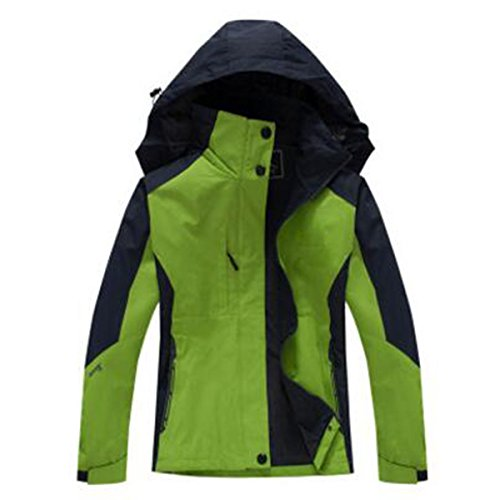 Chaquetas Aire Usable Mujeres Al Libre Impermeable Chándal WU Green LAI Capa Sola 8gXxqAE