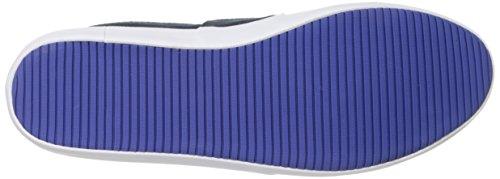 Marice Navy White Lacoste Men's Canvas Loafer Uxq75nRw0