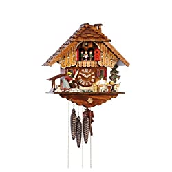 Anton Schneider Rolling Pin Cuckoo Clock