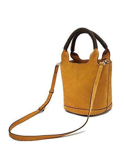 Zara Donna Shopper midi pelle scamosciata 8366/204