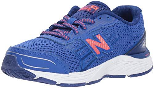 Shoes Gym Boys (New Balance Boys' 680v5 Running Shoe, Pacific/Dynomite, 3.5 M US Big Kid)