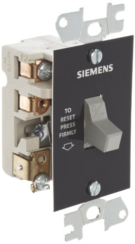 (Siemens SMFF02 Fractional HP Starter, Single Phase, Open Type, Standard Starter Feature, Toggle Operator Type, 2 Poles)