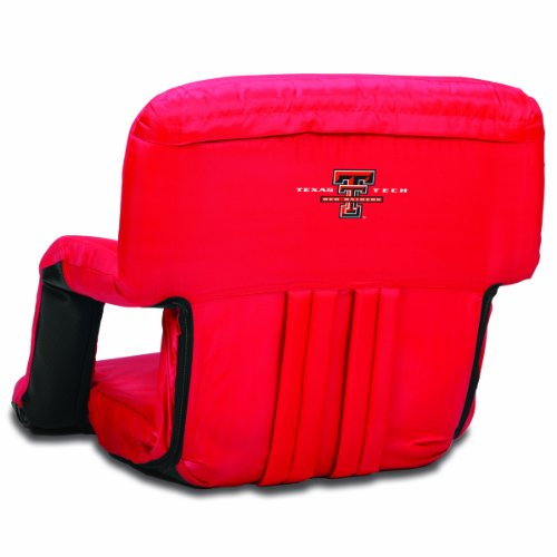 (NCAA Texas Tech Red Raiders Ventura Portable Reclining Seat, Red)