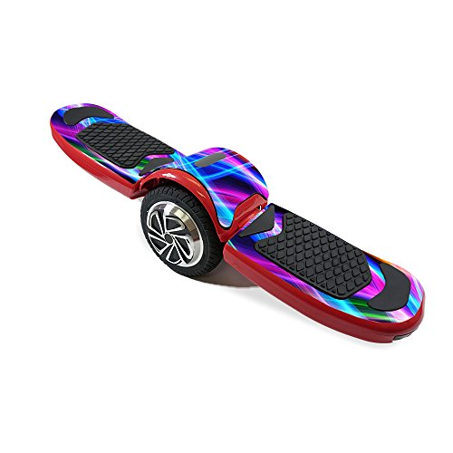 Skin for LTXtreme Free-Style Hoverboard - Light Waves  MightySkins Protective, Durable, and Unique Vinyl Decal wrap cover   Easy To Apply, Remove, and Change Styles   Made in the USA (Freestyle Wave)