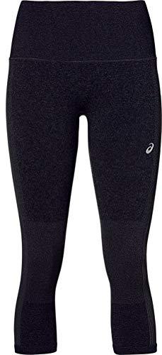 ASICS Women's Cooling Seamless Capri Running Clothes, XS, Performance Black