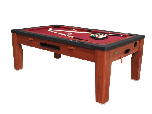 6 in 1 Multi Game Table in Cherry By Berner ()