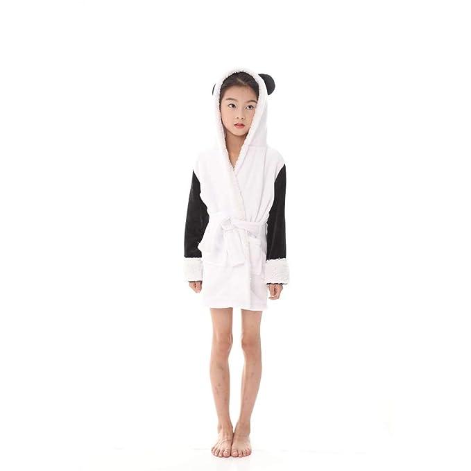 WYSMOL Unisex Niños Franela Panda Albornoces Batas y Kimonos Pijamas Ropa de Dormir: Amazon.es: Ropa y accesorios