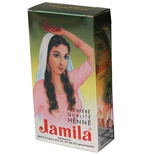 Jamila Henna Powder, 100 grams (New Best Mehndi Design)