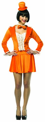 Rasta Imposta Dumb And Dumber Lloyd Skirt Suit, Orange, Adult 4-10 -