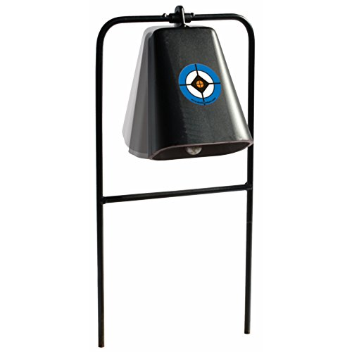 Do-All Outdoors Steel Cow Bell Shooting Plinking Target Rated for .22 Caliber