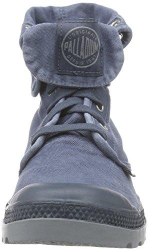 PalladiumBaggy - botas Desert de caña media forradas Hombre Azul (Dark Slate/Monument 404)