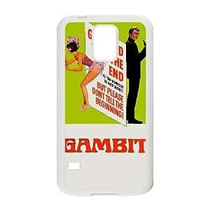 Alta resolución Gambit cartel Samsung Galaxy S5 caja del teléfono celular funda blanca del teléfono celular Funda Cubierta EEECBCAAJ71599