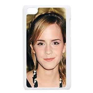 iPod Touch 4 Case White ha54 emma watson dress girl face Y9T7KW