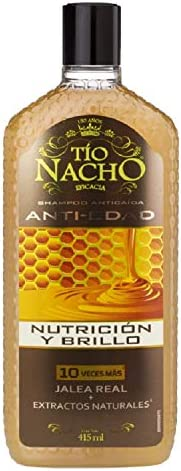 Tío Nacho Shampoo Anti-Edad Jalea Real 415 ml