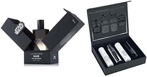 Star Wars Eau de Parfum Dark 50ml and Travel Kit with 4 X 10ml Spray Perfumes