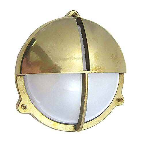 Brass Bulkhead Outdoor Lighting in US - 8
