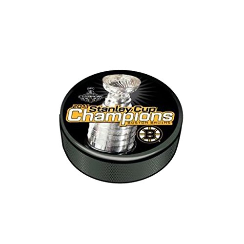 2011 Stanley Cup Champion Souvenir Puck Boston Bruins