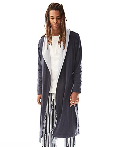 Rebel Canyon Long Sleeve Shawl Collar Peached Jersey Robe