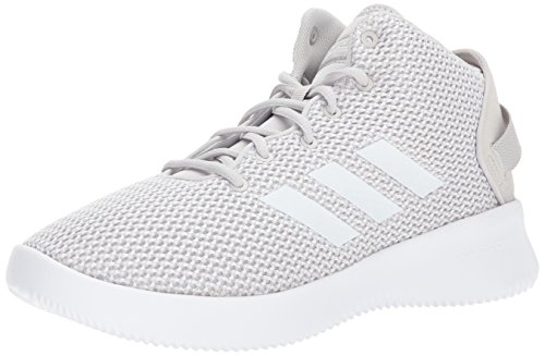 4f4f64422a43 ... adidas NEO Mens CF Refresh Mid Basketball-Shoes Grey One White Grey Two