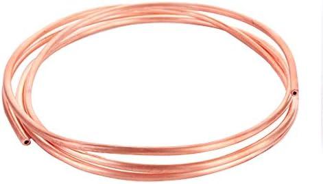 Zewoi Kupferrohr T2 99,9% reines Rundrohr Elektronik, Länge: 1000 mm,OD:10mm*Thickness:1