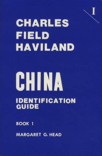Charles Field Haviland China Identification Guide Book 1
