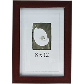 New Mahogony Wooden 12 X 8 Picture Frame