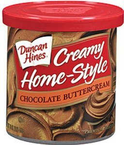 Chocolate Butter Icing (Duncan Hines, Creamy Home-Style Chocolate Butter Cream Frosting, 16oz Tub (Pack of 3))