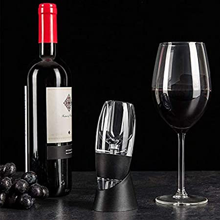 King Gift Aireador de vino tinto vertedor y decantador