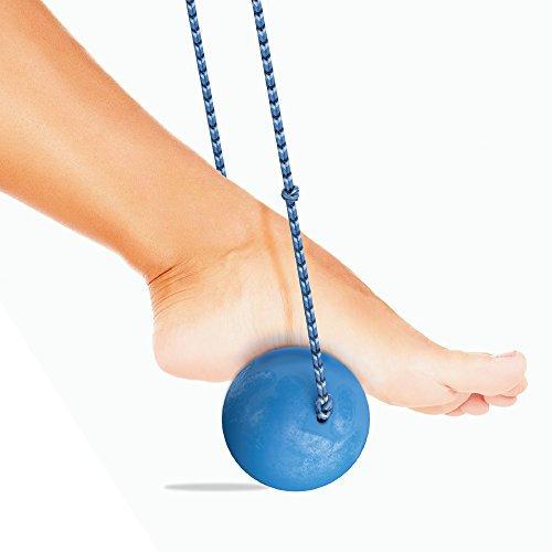 SnOh Ball - Plantar Facitis Relief - Ice Cold Foot Massage Ball Roller With Paracord Handles - Fastest Long-term Foot Pain Relief Guaranteed - Trigger Point Ball Targets Plantar Fasciitis