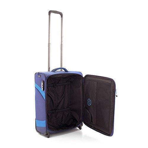 Roncato Trolley Laptop Rollkoffer, 39 liters, Blau (Blu)