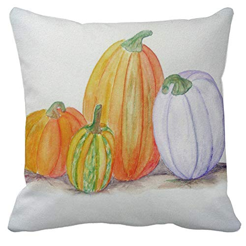 Halloween Throw Pillow Covers, Clearance! 18''X18'' Pumpkin Throw Pillow Case Cushion Cover Sofa Home Decor (G)