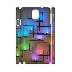 Rainbow DIY 3D Phone Case for Samsung Galaxy Note 3 N9000 LMc-40380 at LaiMc