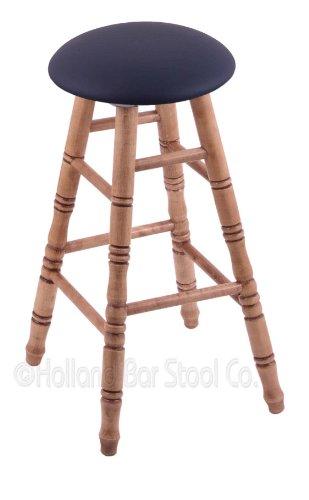 Maple Extra Tall Bar Stool in Medium Finish with Allante Dark Blue Seat price