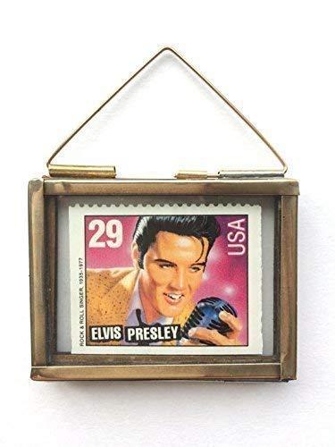 Elvis Presley Framed Postage Stamp Keepsake Gift ()
