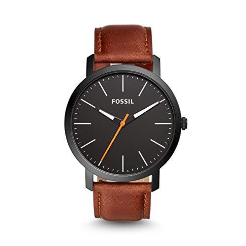 Fossil Analog Black Dial Men's Watch-BQ2310