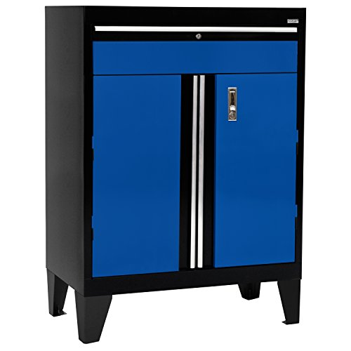Base Modular Black (Sandusky Lee GADF301836-069L Modular System Base Storage Cabinet with Drawer, 30