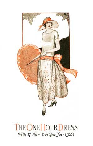 1920s Dress Pattern - 4