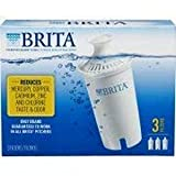 Brita Replacement Filters 3 Count (Advanced) White
