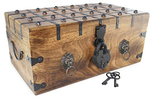 Well Pack Box Lion Heart Pirate Treasure Chest 17